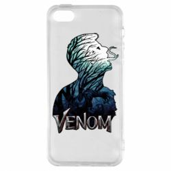 Чохол для iphone 5/5S/SE Venom silhouette art