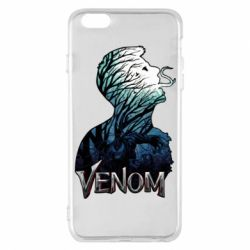 Чохол для iPhone 6 Plus/6S Plus Venom silhouette art