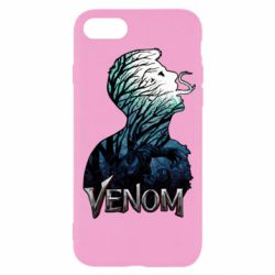 Чохол для iPhone 7 Venom silhouette art