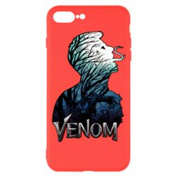 Чохол для iPhone 7 Plus Venom silhouette art
