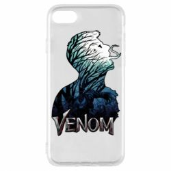 Чохол для iPhone 8 Venom silhouette art