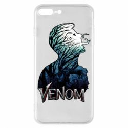 Чохол для iPhone 8 Plus Venom silhouette art