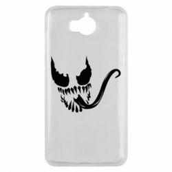Чехол для Huawei Y5 2017 Venom Silhouette - FatLine