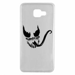 Чехол для Samsung A7 2016 Venom Silhouette - FatLine