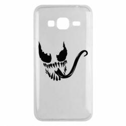 Чехол для Samsung J3 2016 Venom Silhouette - FatLine