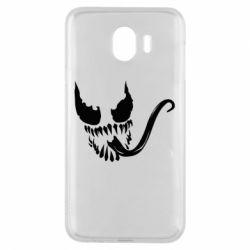 Чехол для Samsung J4 Venom Silhouette - FatLine