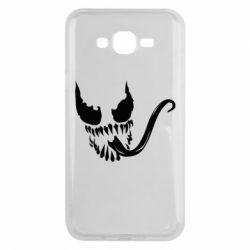 Чехол для Samsung J7 2015 Venom Silhouette - FatLine