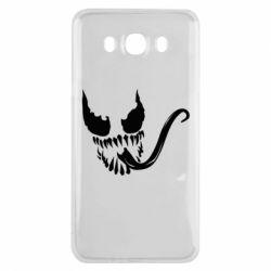 Чехол для Samsung J7 2016 Venom Silhouette - FatLine