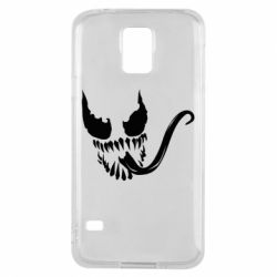 Чехол для Samsung S5 Venom Silhouette - FatLine