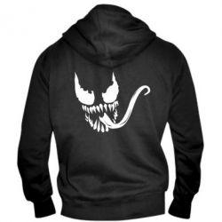 Мужская толстовка на молнии Venom Silhouette - FatLine