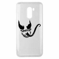 Чехол для Xiaomi Pocophone F1 Venom Silhouette - FatLine