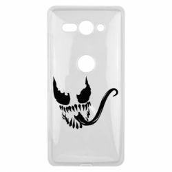 Чехол для Sony Xperia XZ2 Compact Venom Silhouette - FatLine