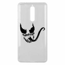 Чехол для Nokia 8 Venom Silhouette - FatLine
