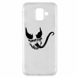 Чехол для Samsung A6 2018 Venom Silhouette - FatLine