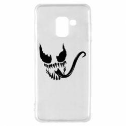 Чехол для Samsung A8 2018 Venom Silhouette - FatLine
