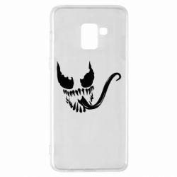 Чехол для Samsung A8+ 2018 Venom Silhouette - FatLine
