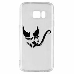 Чехол для Samsung S7 Venom Silhouette - FatLine