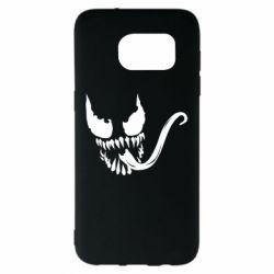 Чехол для Samsung S7 EDGE Venom Silhouette - FatLine