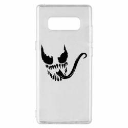 Чехол для Samsung Note 8 Venom Silhouette - FatLine