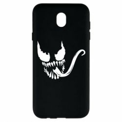 Чехол для Samsung J7 2017 Venom Silhouette - FatLine