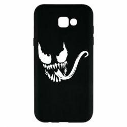 Чехол для Samsung A7 2017 Venom Silhouette - FatLine
