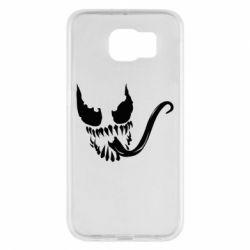 Чехол для Samsung S6 Venom Silhouette - FatLine