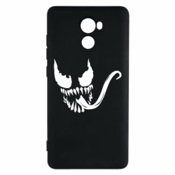 Чехол для Xiaomi Redmi 4 Venom Silhouette - FatLine