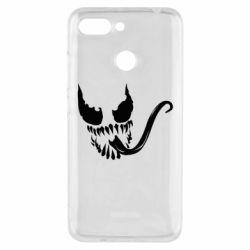 Чехол для Xiaomi Redmi 6 Venom Silhouette - FatLine