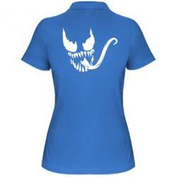 Женская футболка поло Venom Silhouette - FatLine
