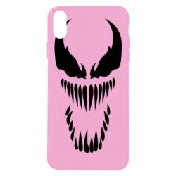 Чехол для iPhone Xs Max Веном Силуэт - FatLine