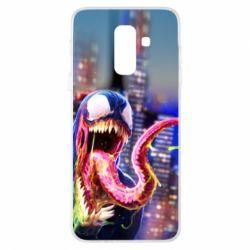 Чехол для Samsung A6+ 2018 Venom slime