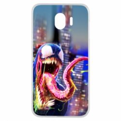 Чехол для Samsung J4 Venom slime