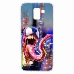 Чехол для Samsung J6 Venom slime