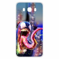 Чехол для Samsung J7 2016 Venom slime