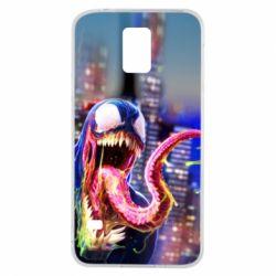 Чехол для Samsung S5 Venom slime