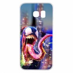 Чехол для Samsung S6 EDGE Venom slime