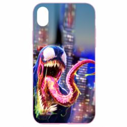 Чехол для iPhone XR Venom slime