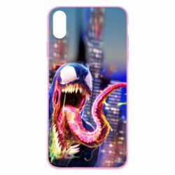 Чехол для iPhone Xs Max Venom slime