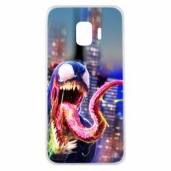 Чехол для Samsung J2 Core Venom slime
