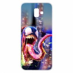 Чехол для Samsung J6 Plus 2018 Venom slime