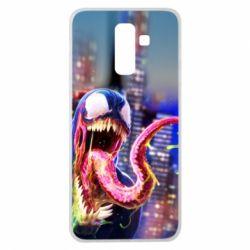 Чехол для Samsung J8 2018 Venom slime