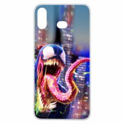 Чехол для Samsung A6s Venom slime