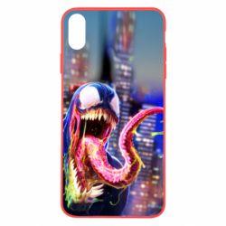 Чехол для iPhone X/Xs Venom slime