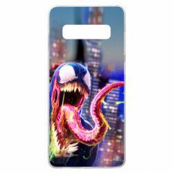 Чехол для Samsung S10+ Venom slime