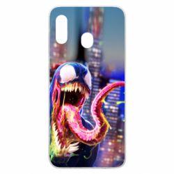 Чехол для Samsung A20 Venom slime