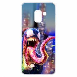 Чехол для Samsung A8 2018 Venom slime