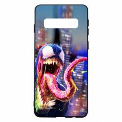 Чехол для Samsung S10 Venom slime
