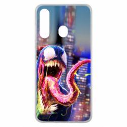 Чехол для Samsung M40 Venom slime