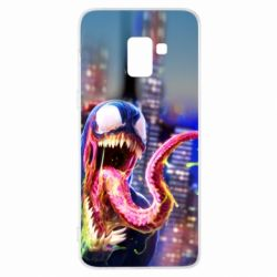 Чехол для Samsung A8+ 2018 Venom slime