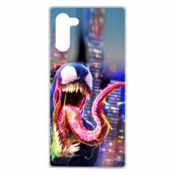 Чехол для Samsung Note 10 Venom slime